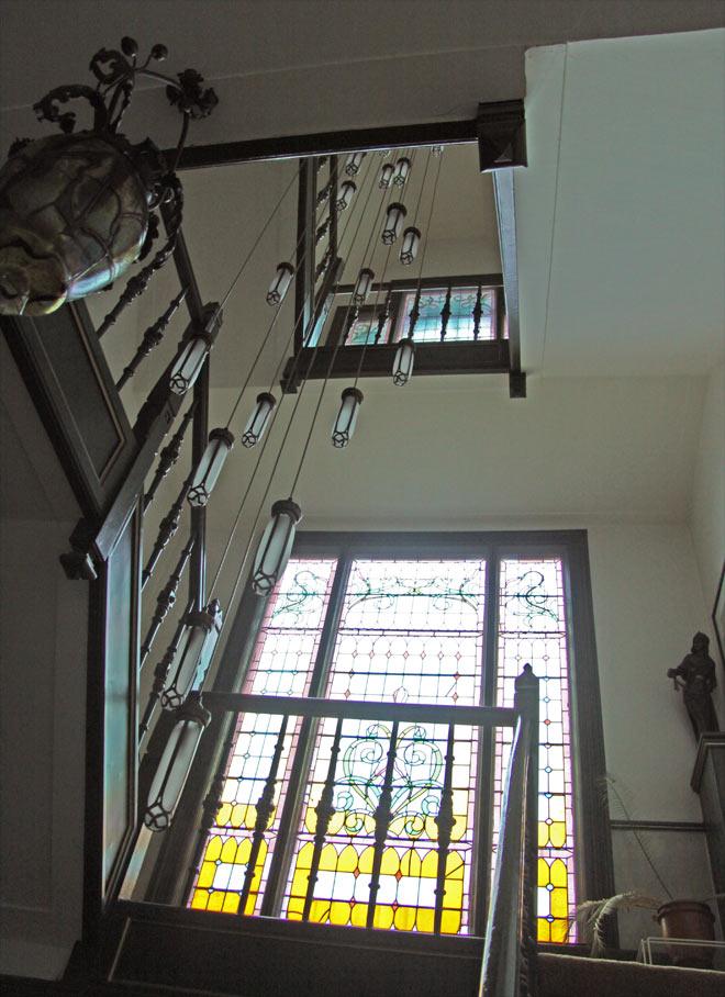 Art Noveau staircase