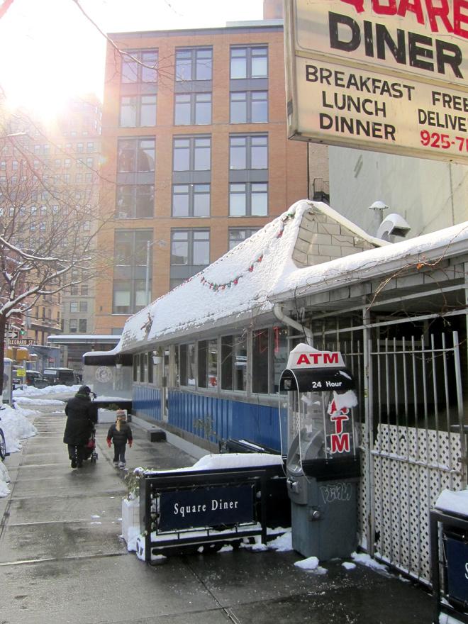 Square Diner - Tribeca, NYC
