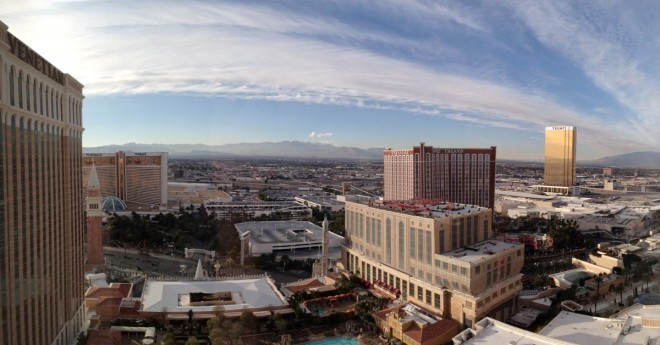 The view from room 29229 at the Venetian