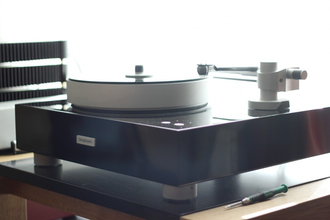 Bergmann turntable