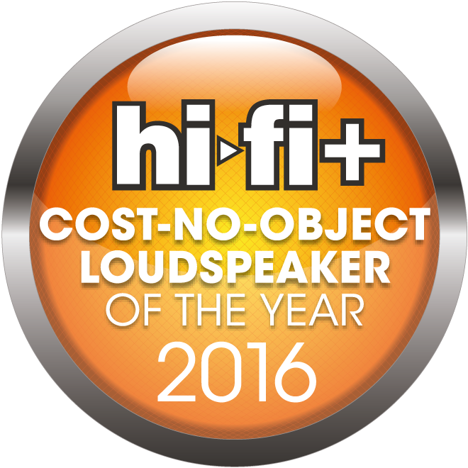 HiFi+ Awards 2016 Cost No Object Loudspeaker